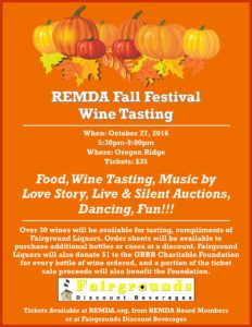 REMDA Fall Festival Flyer